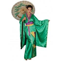 Disfraz Kimono Verde - Stamco - Chiber - Disfraces Josmen S.L.
