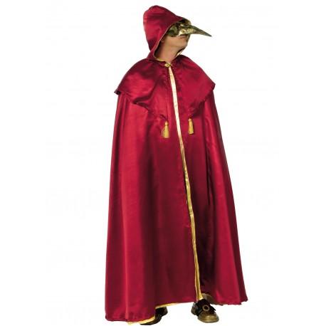 Disfraz Capa Domino Roja - Stamco - Chiber - Disfraces Josmen S.L.