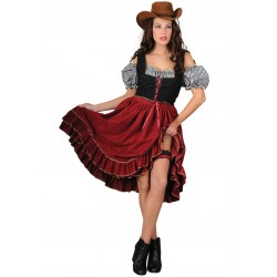 Disfraz Chica Saloon - Stamco - Chiber - Disfraces Josmen S.L.
