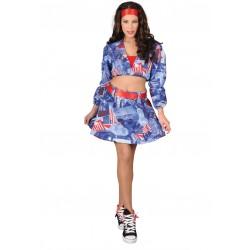 Disfraz Idolo Americana - Stamco - Chiber - Disfraces Josmen S.L.