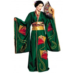 Disfraz Geisha Verde - Stamco - Chiber - Disfraces Josmen S.L.