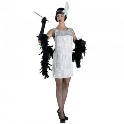 Disfraz Charleston Flecos Blancos - Stamco - Chiber - Disfraces Josmen S.L.