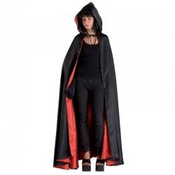 Disfraz Domino Capa Negra con Capucha - Stamco - Chiber - Disfraces Josmen S.L.