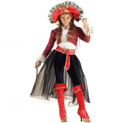 Disfraz Pirata Niña Corsaria - Stamco - Chiber - Disfraces Josmen S.L.