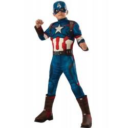 Disfraz Capitán América Luxe Niño - Stamco - Chiber - Disfraces Josmen S.L.