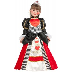 Disfraz Reina de Corazones para Niña - Stamco - Chiber - Disfraces Josmen S.L.