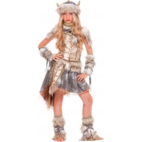 Disfraz Guerrera Vikinga para niña - Stamco - Chiber - Disfraces Josmen S.L.