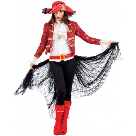 Disfraz Capitana Pirata - Stamco - Chiber - Disfraces Josmen S.L.