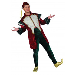 Disfraz Elfo Chaqueta Burdeos - Stamco - Chiber - Disfraces Josmen S.L.