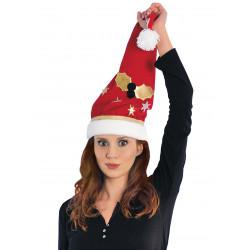 Gorro Navideño de Papá Noel con adornos - Stamco - Chiber - Disfraces Josmen S.L.