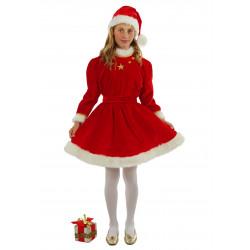 Disfraz Miss Santa Claus Niña - Stamco - Chiber - Disfraces Josmen S.L.