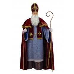 Disfraz San Nicolás de Bari Burdeos - Stamco - Chiber - Disfraces Josmen S.L.