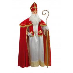 Disfraz San Nicolás de Bari Capa Roja - Stamco - Chiber - Disfraces Josmen S.L.