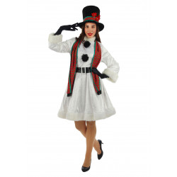 Disfraz Muñeco de Nieve para Mujer - Stamco - Chiber - Disfraces Josmen S.L.