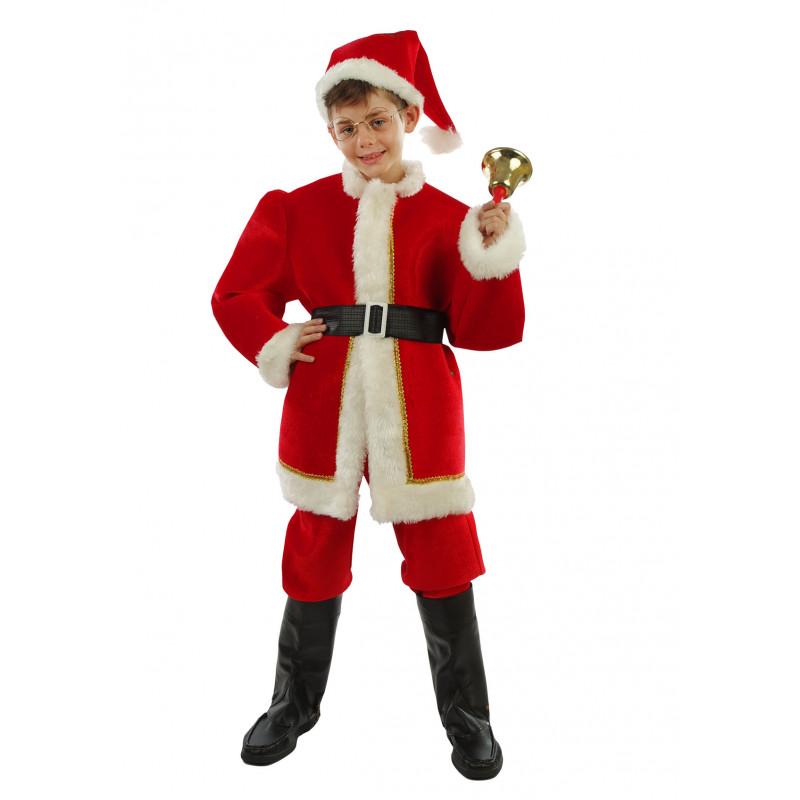 Disfraz santa claus ni o deluxe - Disfraz de santa claus para nino ...