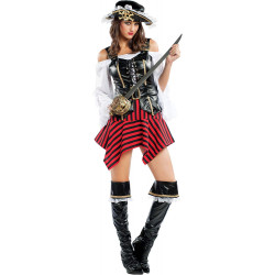 Disfraz Pirata del Caribe para Mujer - Stamco - Chiber - Disfraces Josmen S.L.