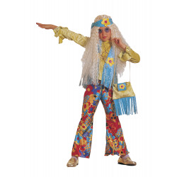 Disfraz Hippie Floreal para Niña - Stamco - Chiber - Disfraces Josmen S.L.