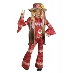 Disfraz Hippie Flower Power para Niña - Stamco - Chiber - Disfraces Josmen S.L.