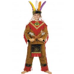 Disfraz Indio Piel Roja