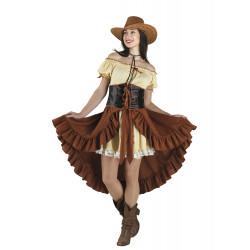 Disfraz Chica Saloon Western