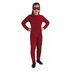 Disfraz Mariquita Heroina Super Bug para Niña - Stamco - Chiber - Disfraces Josmen S.L.