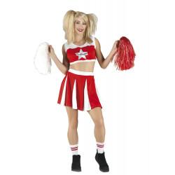 Disfraz Animadora Americana Cheerleader - Stamco - Chiber - Disfraces Josmen S.L.