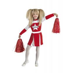 Disfraz Niña Animadora Americana Cheerleader - Stamco - Chiber - Disfraces Josmen S.L.