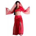 Disfraz Bollywood Rojo