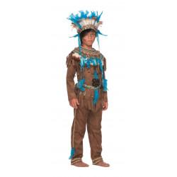 Disfraz Gran Jefe Indio para Niño