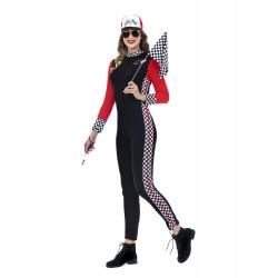 Disfraz Piloto de Carreras para Mujer