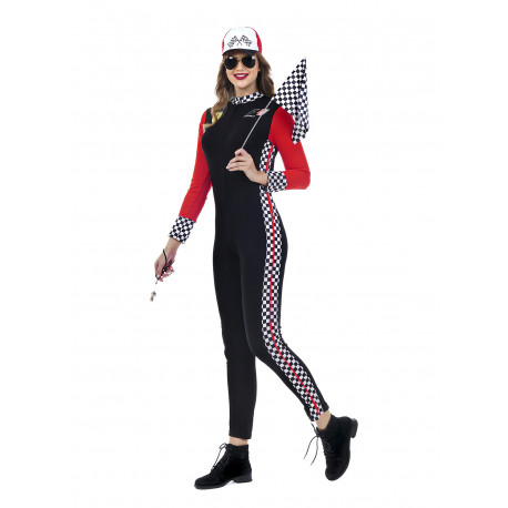 Disfraz Piloto de Carreras para Mujer - Stamco - Chiber - Disfraces Josmen S.L.
