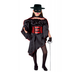 Disfraz Niña Don Diego - El Zorro - Stamco - Chiber - Disfraces Josmen S.L.