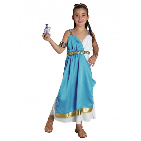 Disfraz de Afrodita Diosa de la Belleza para Niña - Stamco - Chiber - Disfraces Josmen S.L.