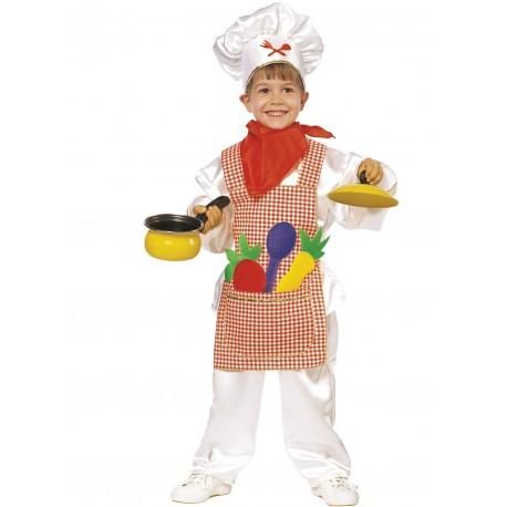 Disfraz Pequeño Cocinero - Stamco - Chiber - Disfraces Josmen S.L.