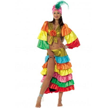 Disfraz Bailarina Brasileña - Stamco - Chiber - Disfraces Josmen S.L.