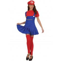 Disfraz Super Mario Mujer - Stamco - Chiber - Disfraces Josmen S.L.