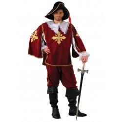 Disfraz Mosquetero Burdeos Dos - Stamco - Chiber - Disfraces Josmen S.L.