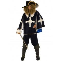 Disfraz Mosquetero Azul - Stamco - Chiber - Disfraces Josmen S.L.