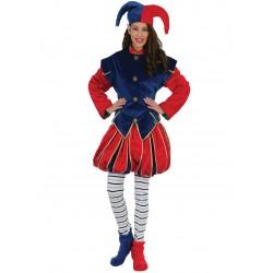 Disfraz Elfa Azul Rojo - Stamco - Chiber - Disfraces Josmen S.L.