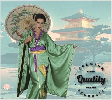 Disfraces de lujo y alta calidad